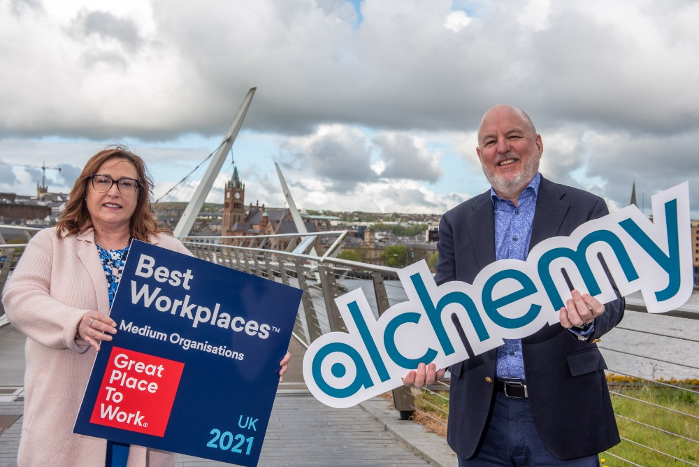 Alchemy Technology Services reach no. 29 On UK's Best Workplaces List